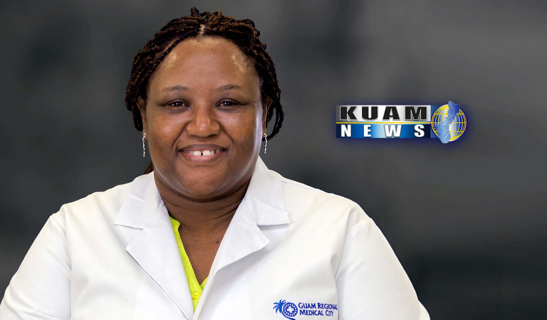 KUAM News Report – GRMC Deputy CMO Dr. Aku Agyeman talks about GRMC's emergency preparedness plan