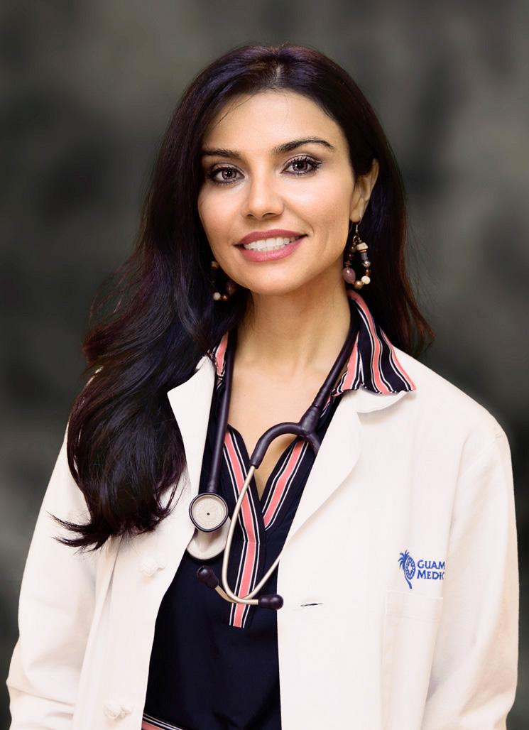 Indiana University Hospital >> Najmeh Akhavan, M.D. – Guam Regional Medical City