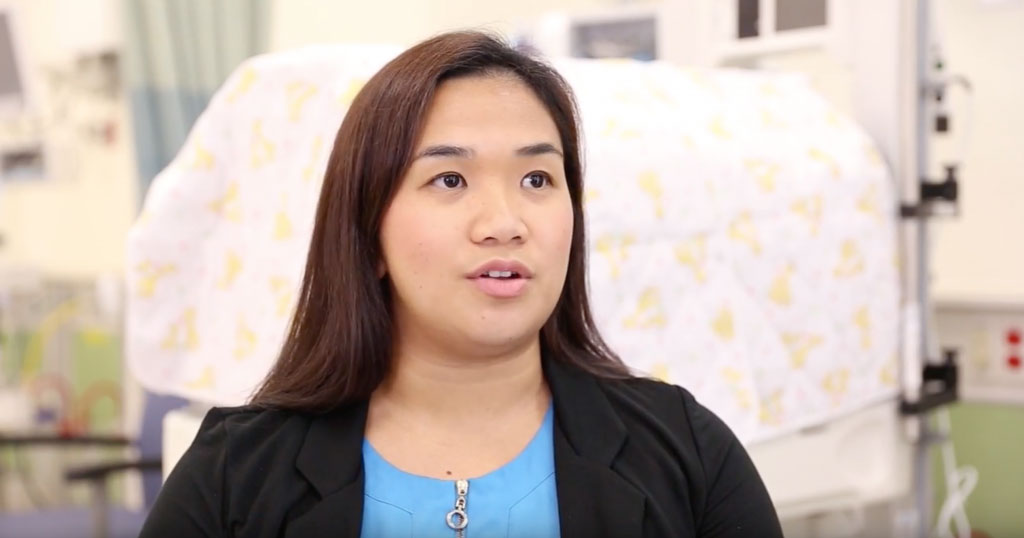 Neonatologist Dr. Vanessa Concina and the GRMC Neonatal Intensive Care Unit