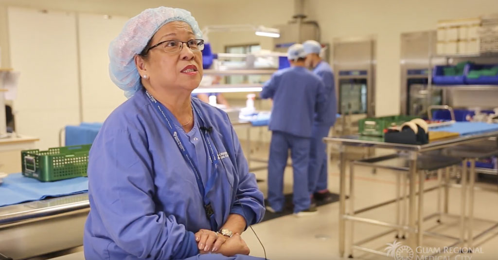 A Look inside the GRMC Central Sterilization Supply Department