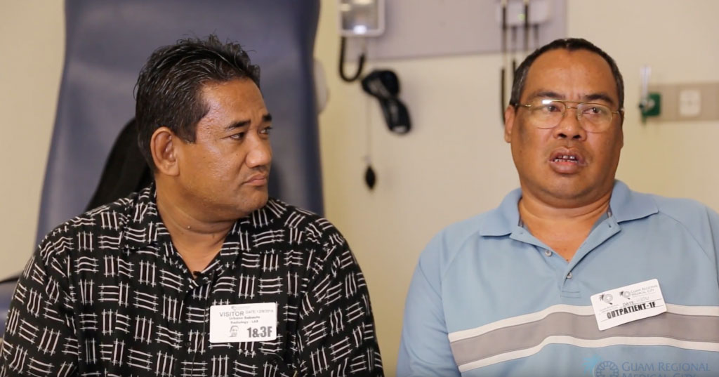 Victor Castro is walking and talking again, thanks to GRMC Neurosurgeon Dr. David Weingarten
